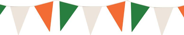 Ireland Nylon Pennant Bunting 7m