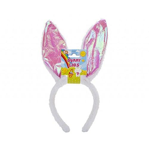 Iridescent Bunny Ears Easter Headband Fancy Dress
