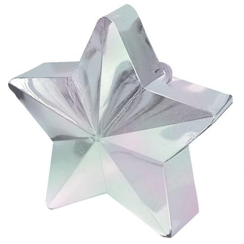 Iridescent Star Balloon Weight Product Image