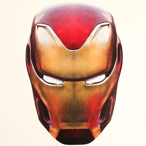 Iron Man Avengers Infinity War Cardboard Face Mask
