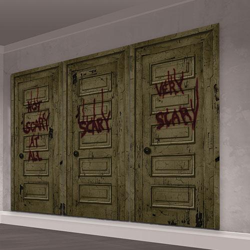 IT Chapter 2 Scene Setter Add-On Wall Decorating Kit Halloween Backdrop