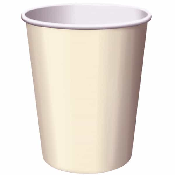 Ivory Paper Cups 270ml - Pack of 14 Bundle Product Image