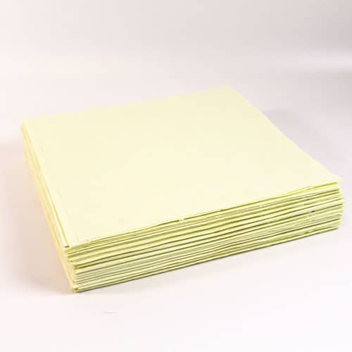 Ivory Paper Tablecovers - 90cm x 90cm - Pack of 25