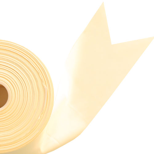 Ivory Satin Faced Ribbon Reel 100mm x 91m Product Image
