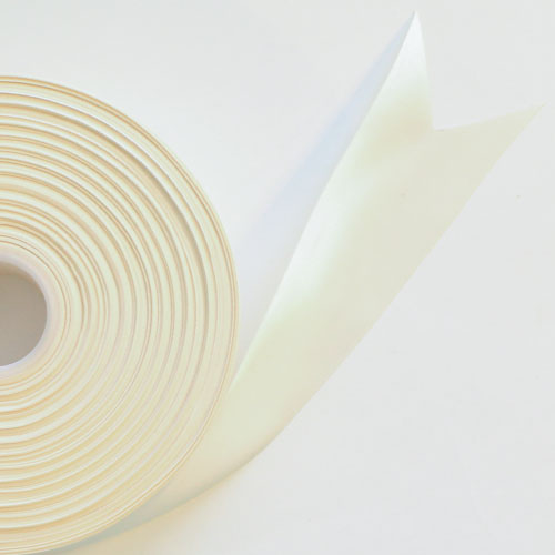 Ivory Satin Faced Ribbon Reel 45mm x 91m Product Image