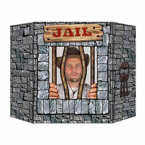 Jail Photo Prop - 64cm