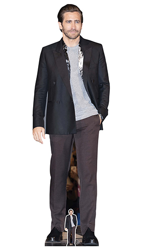Jake Gyllenhaal Grey Shirt Lifesize Cardboard Cutout 183cm Product Image