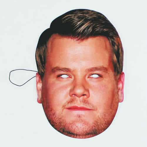 James Corden Face Mask Product Image