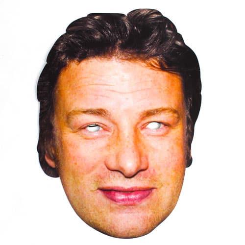 Jamie Oliver Cardboard Face Mask Product Image