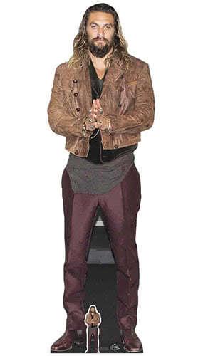 Jason Momoa Lifesize Cardboard Cutout 192cm Product Image