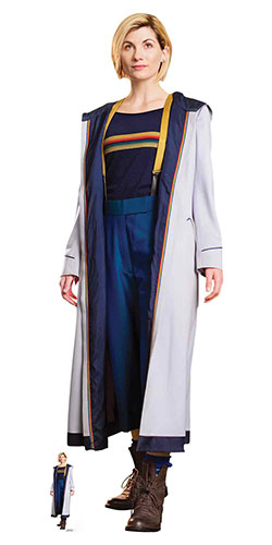Jodie Whittaker 13th Doctor Dr Who Lifesize Cardboard Cutout 168cm Product Image