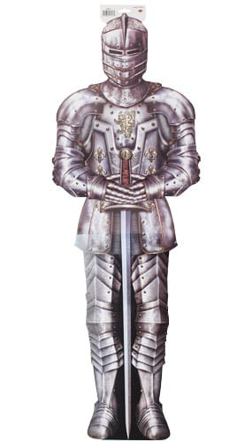 Jointed Suit of Armour Lifesize Decorative Cutout - 6 Ft / 183cm Product Image
