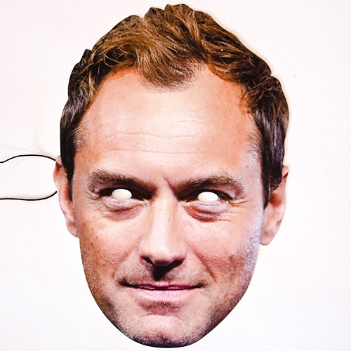Jude Law Cardboard Face Mask