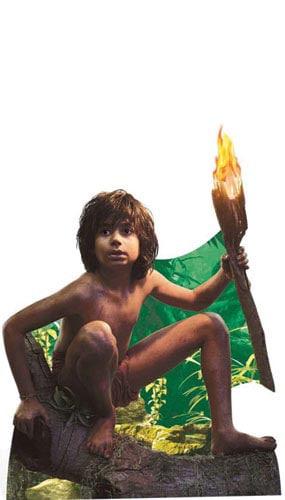 Jungle Book Mowgli Lifesize Cardboard Cutout - 134cm Product Image
