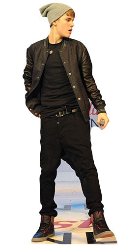 Justin Bieber On Stage Lifesize Cardboard Cutout 173cm Product Image