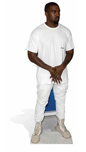 Kanye West T Shirt Lifesize Cardboard Cutout - 166cm Product Image