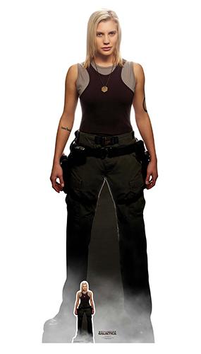 Kara Thrace Starbuck Katee Sackhoff Battlestar Galactica Lifesize Cardboard Cutout 169cm