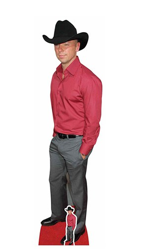 Kenny Chesney Red Carpet Lifesize Cardboard Cutout 169cm Product Image
