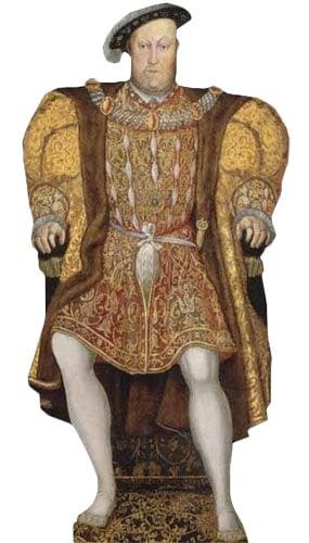 King Henry VIII Lifesize Cardboard Cutout - 178cm Product Image