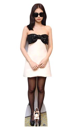 Kpop Star Jennie Kim Blackpink Lifesize Cardboard Cutout 164cm Product Image