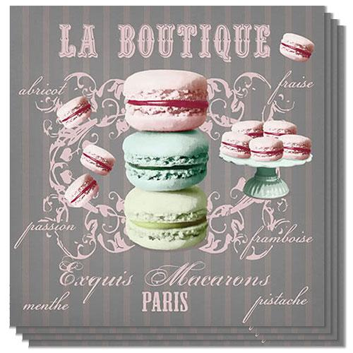 La Boutique Luncheon Napkins 3Ply 33cm - Pack of 50 Product Image