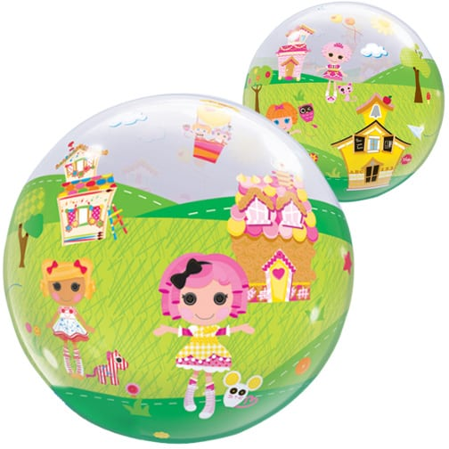 Lalaloopsy Land Bubble Helium Qualatex Balloon 56cm / 22 in Product Image