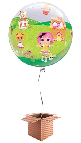 Lalaloopsy Land Bubble Helium Qualatex Balloon - Inflated Balloon in a Box Product Image
