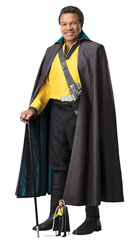 Lando Star Wars The Rise of Skywalker Lifesize Cardboard Cutout 184cm Product Image