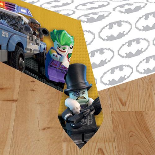 LEGO Batman Movie Plastic Tablecover 243cm x 137cm