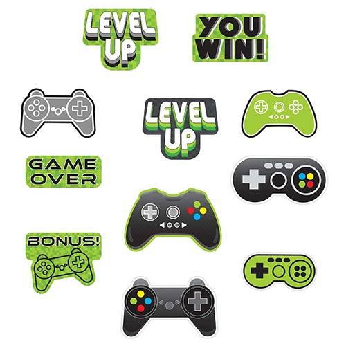 Level Up Gaming Cutouts Decorating Kit Product Image