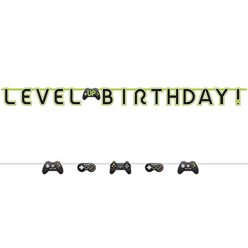Level Up Gaming Paper Banner Kit