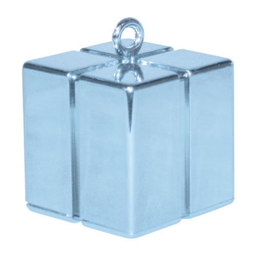 Light Blue Gift Box Balloon Weight 110g Product Image