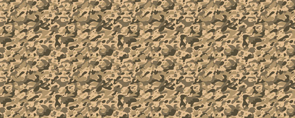 Light Brown Camouflage Design Large Personalised Banner - 10ft x 4ft