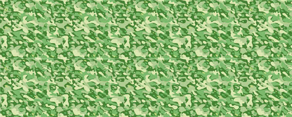 Light Green Camouflage Design Small Personalised Banner - 4ft x 2ft