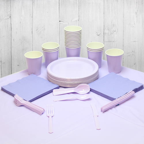 Lilac 14 Person Party Pack Product Image