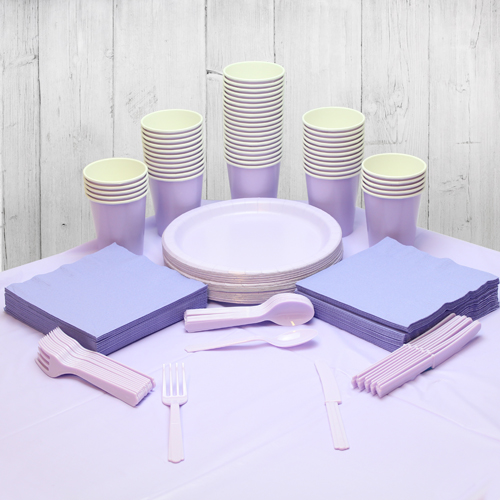 Lilac 56 Person Party Pack Product Image