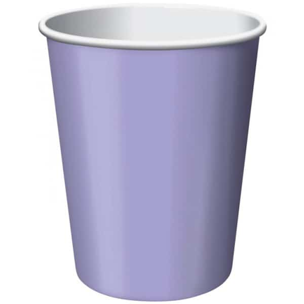 Lilac Paper Cups 270ml - Pack of 14 Bundle Product Image