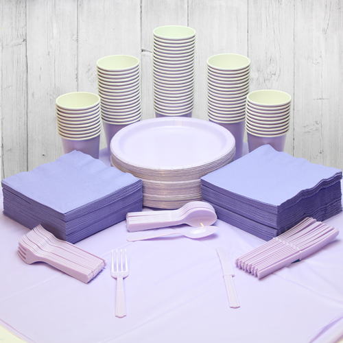 Lilac 98 Person Party Pack Product Image
