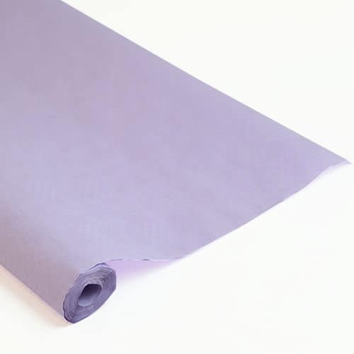 Lilac Paper Banquet Roll - 8m x 1.2m