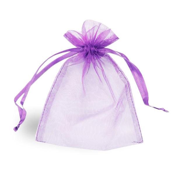 Lilac Organza Bag