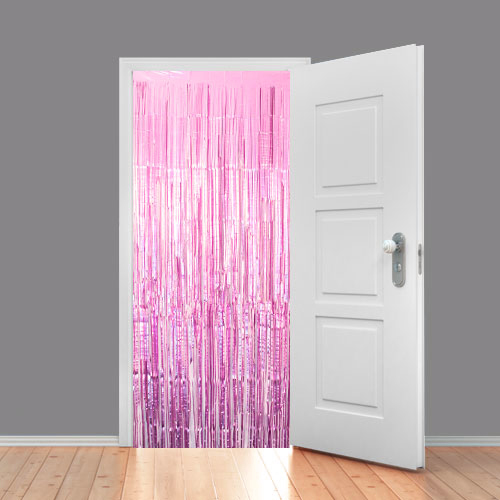 Lilac Satin Foil Shimmer Curtain 95cm x 200cm - Pack of 10 Product Image