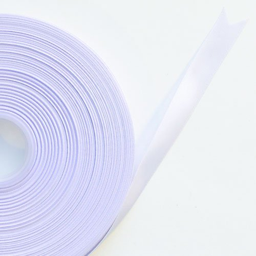 Lilac Satin Faced Ribbon Reel 15mm x 91m Product Image