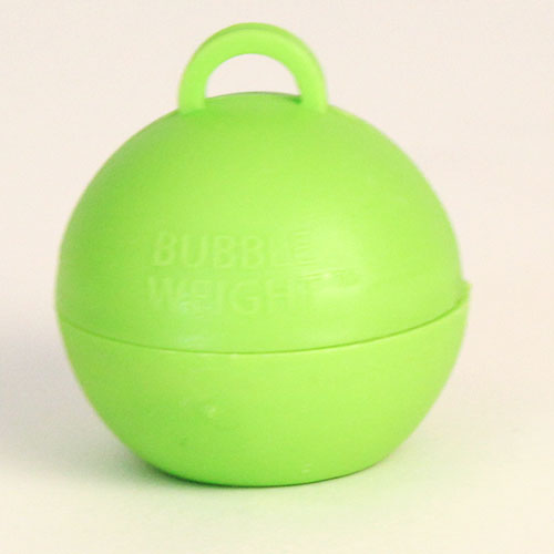 Lime Green Bubble Balloon Weight 35g Product Image