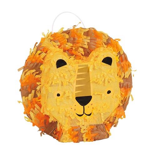 Lion Mini Pinata Decoration 18cm