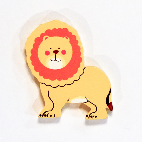 Lion Wooden Magnetic Toy Product Image