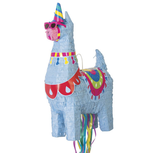 Llama 3D Shaped Pull String Pinata Product Image