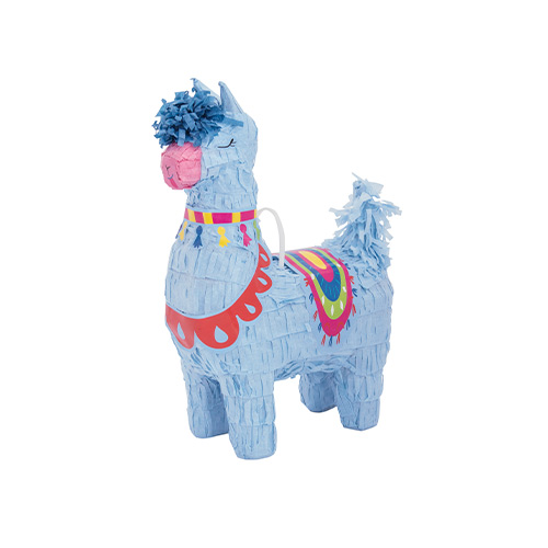 Llama Mini Pinata Decoration 25cm