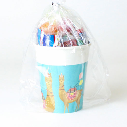 Llama Party Candy Cup