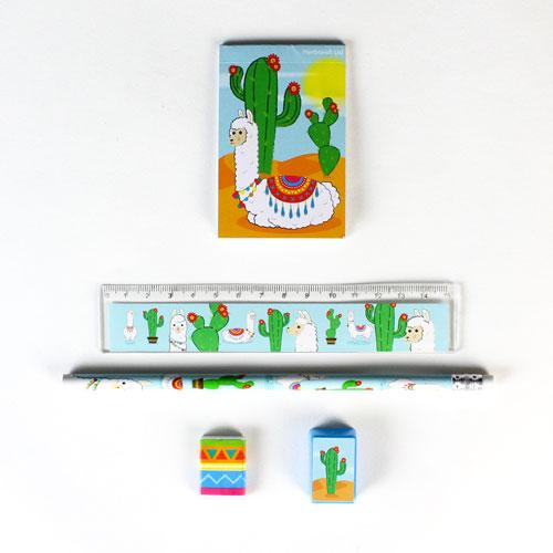 Llama Stationery Favour Set Product Image