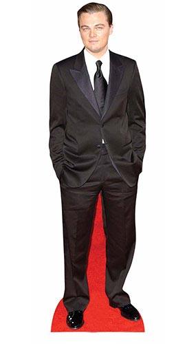 Leonardo DiCaprio Black Suit Lifesize Cardboard Cutout 183cm Product Image